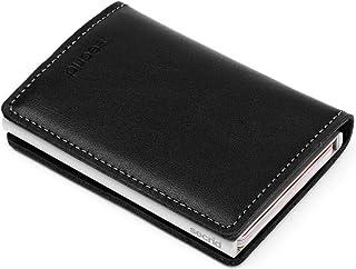 Secrid SLIM Wallet Genuine Leather Original Black RFID Card Case Max 12 Cards