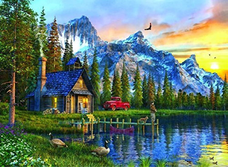 en venta en línea Anatolian Anatolian Anatolian Sunset Cabin Jigsaw Puzzle (1000 Piece) by Anatolian  A la venta con descuento del 70%.