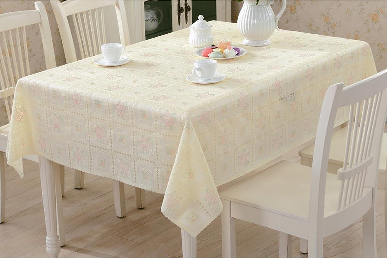 Unbekannt Küchenwäsche Couchtisch-Auflage PVC-Tischdecke-Tuch-Plastiktischdecke-Nachttabellen-bedeckte Tuch-Tabellen-Matte (Farbe   B, größe   137  220CM) B0773KSP9H Kaufen Sie beruhigt und glücklich spielen  | Exzellente Verarbeitung