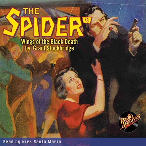 The Spider #3: Wings of the Black Death audiobook cover art