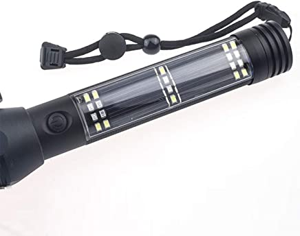Lorenlli Multifunktionale Outdoor Camping Sicherheit Notlicht Solarbetriebene LED Taschenlampe Sicherheit Sicherheit Sicherheit Taschenlampe Überleben Werkzeug B07K8RK1BY     | Verschiedene  c5c3ff