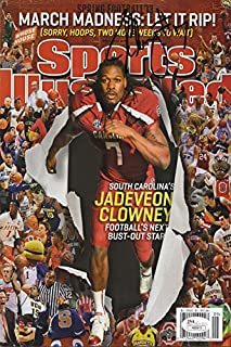 Jadeveon Clowney Sports Illustrated Autograph Poster - South Carolina Gamecocks