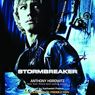 Stormbreaker audiobook cover art
