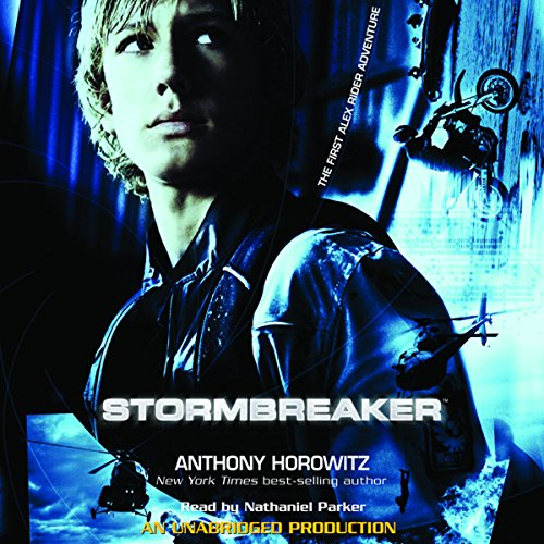 Stormbreaker     The First Alex Rider Adventure              De :                                                                                                                                 Anthony Horowitz                               Lu par :                                                                                                                                 Nathaniel Parker                      Durée : 4 h et 37 min     1 notation     Global 4,0