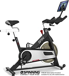 SPINNING Spin L9 Indoor Cycling Fusion Belt Drive Spin Bike with Digital Subscription