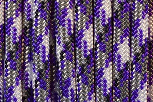BoredParacord Brand 550 lb Passion feet We OFFer at cheap prices 100 Paracord Purple Ranking TOP19