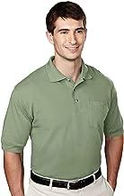 Tri-Mountain 106 pique pocketed golf shirt