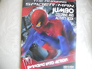 The Amazing Spider-Man Jumbo Coloring & Activity Book ~ Swinging Into Action