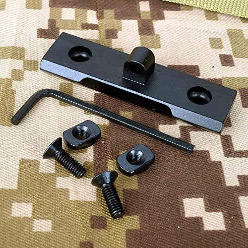 Bípodes XFC 2,33 Pulgadas Adaptador táctico Fit Keymod M-LOK bípode Guardamanos for AR15 Rifle de Accesorios Picatinny for la Caza Accesorios del Arma