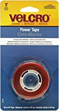 Velcro(R) Brand Fasteners Velcro - Power Tape Acrylic Adhesive, 5' X 1 Tape, Clear