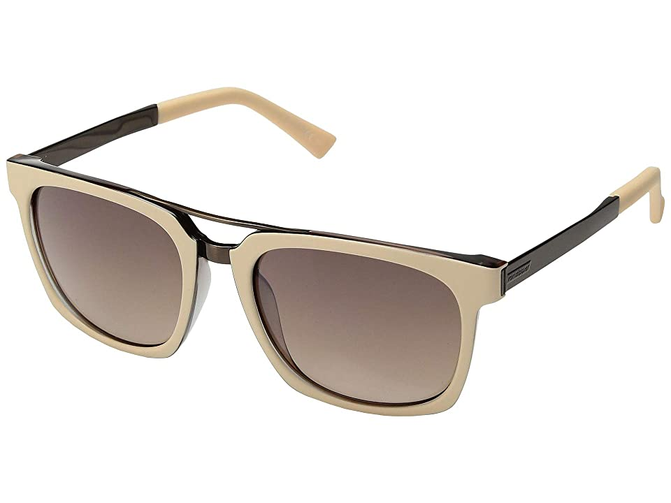 VonZipper Plimpton (Nude Tortoise/Silver Flash Brown Gradient) Fashion Sunglasses