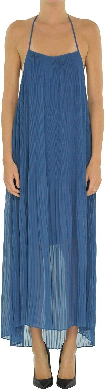 TwinSet Women's MCGLVS0000005173E bluee Viscose Dress
