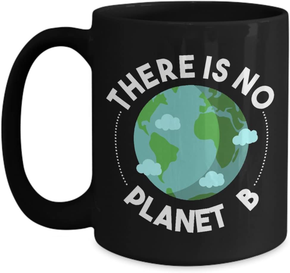 There Is No Planet B Coffee Mug Earth Day Gift Ceramic Mug Kitchen Dining