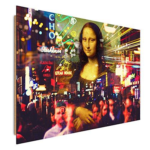 Feeby. Tableau - 1 Partie - 50x70 cm, Décoration Murale Image Imprimée Deco Panel, JOCONDE, Modern, Multicolor