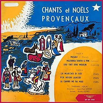 Chants Et Noël Provençaux (EP of 1955)