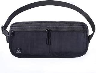 Yakia ウエストポーチ スキミング防止 2Way ウエストバッグ パスポートバッグ 首下げ 軽量 防水 旅行グッズ 貴重品入れ クラッチバッグ 盗難 セキュリティポーチ ボディバッグ パスポートケース