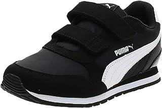 بوما حذاء كاجوال فاشن سنيكرز للاولاد , مقاس 29 EU , اسود وابيض