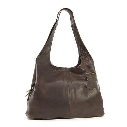 41f719ed5c5d Gigi - Women's Leather Shoulder Bag - OTHELLO 4326