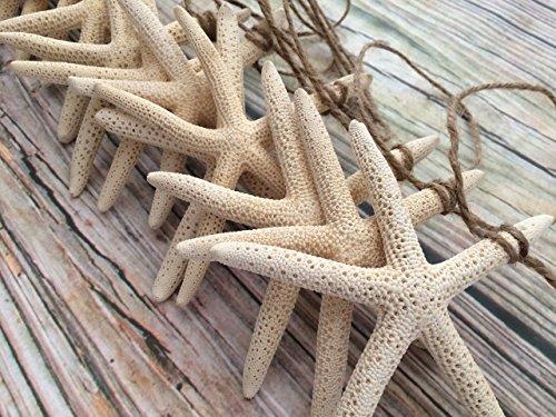 10ft Starfish Coastal Christmas and Wedding Garland