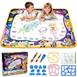 Aqua Magic Mat - Kids Painting Writing Doodle Board Toy - Color Doodle Drawing Mat Bring Magic Pens...