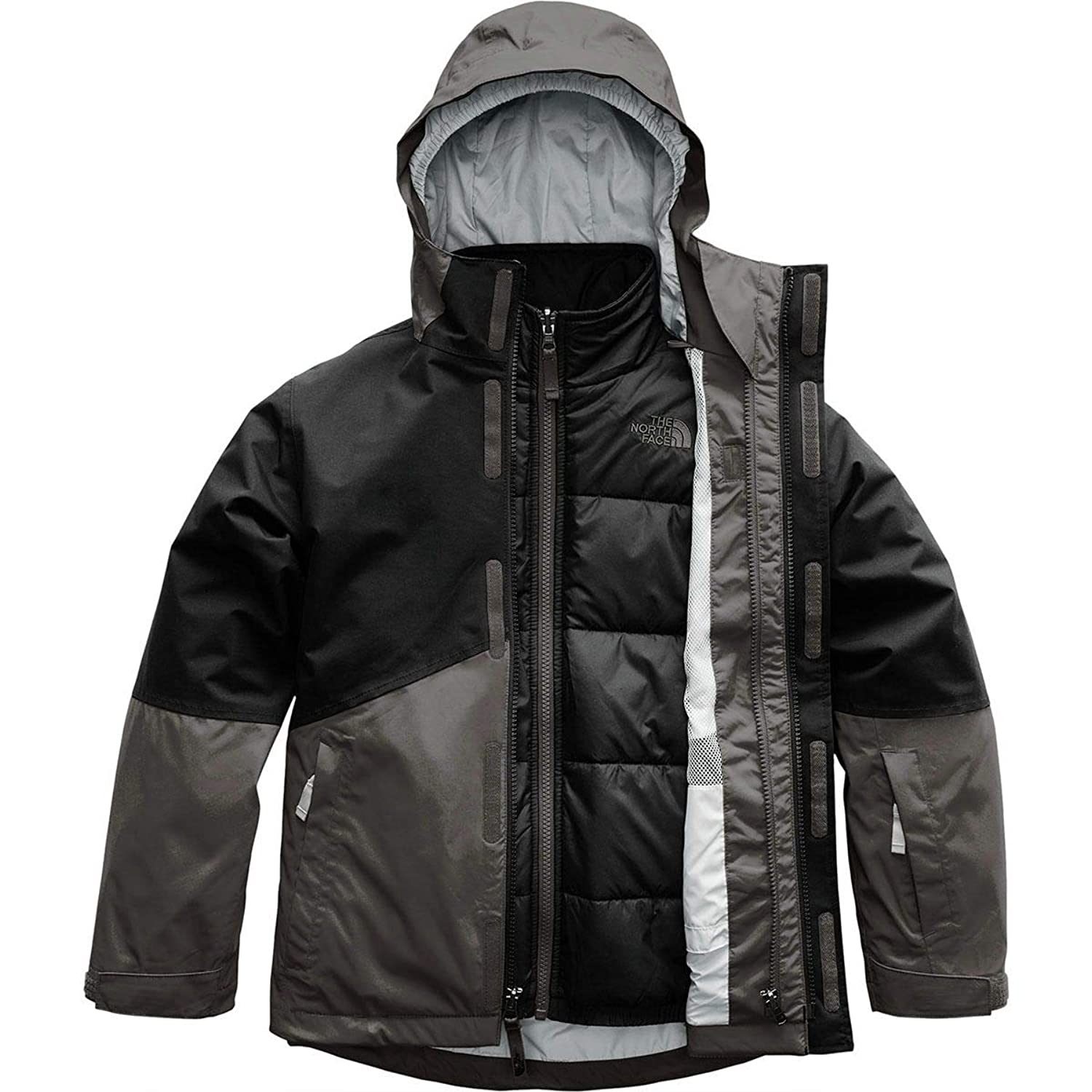 The North Face OUTERWEAR ボーイズ US サイズ: Small カラー: グレー