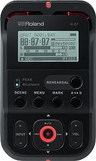ローランド リニアPCMレコーダー(ブラック)外部SDカードスロット搭載Roland R-07-BK