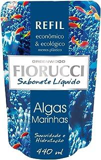 Refil Sabonete Líquido Algas Marinhas 440Ml, Fiorucci