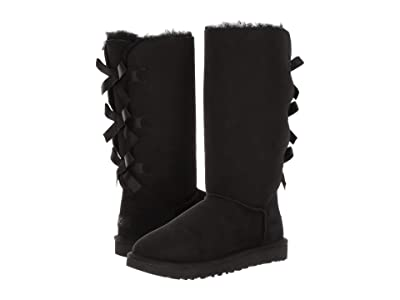 UGG Bailey Bow Tall II (Black) Women