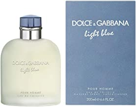 Dolce & Gabbana Light Blue Eau de Toilette Spray for Men, 6.6 Fl Oz
