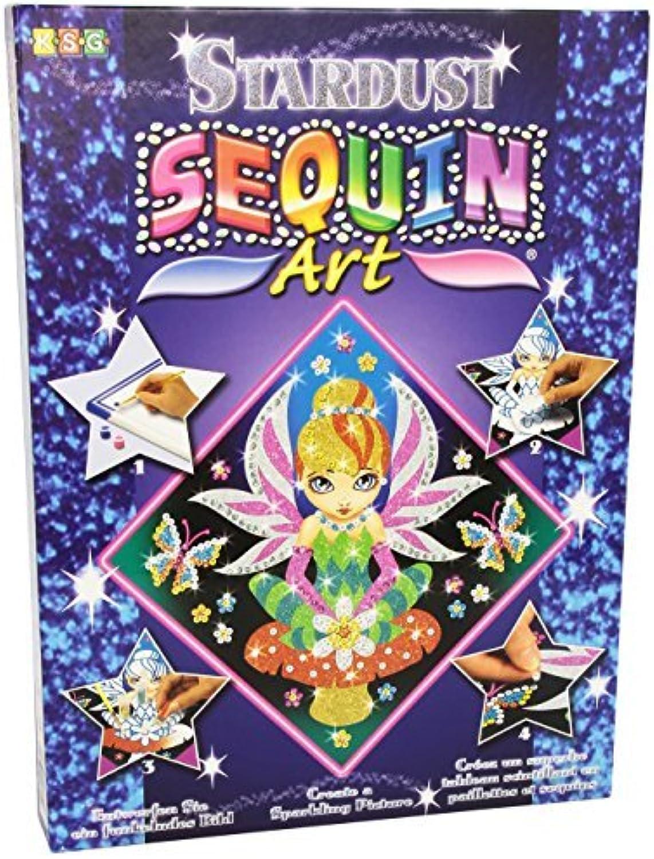 Venta al por mayor barato y de alta calidad. KSG Fairy Fairy Fairy Estrelladust Sequin Art by KSG  compras online de deportes