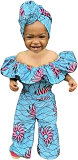 Easter Janly Clearance Sale Romper for Baby 0-3 Years Old Summer Toddler Newborn Girls Sleeveless Dashiki African Romper Jumpsuit Clothes Girls Romper Jumpsuit
