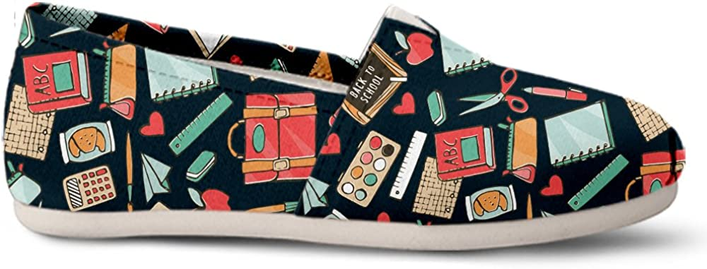 Gnarly Tees Teacher Pattern Casual Shoes
