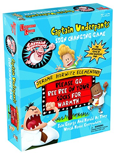 Captain Underpants Sign Changing Game