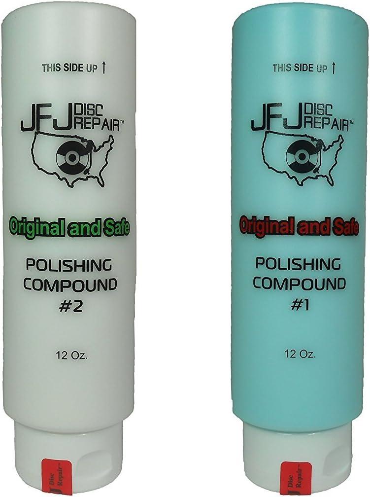 Original JFJ Polish Compound Combo Pack High order Blue #1 Ranking TOP15 #2 12oz White