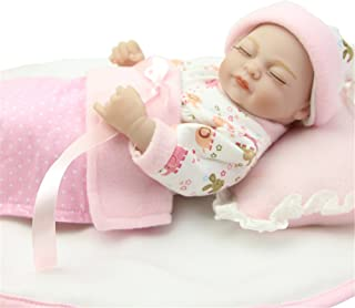 Soft Fashion Nurturing Baby Doll For Collection Mini 11 Inch Girl Full Body Silicone Vinyl Realistic Newborn Babies Dolls Kids Birthday Holiday Gift Portable Reduce Anxiety Help Autism Pregnant Women