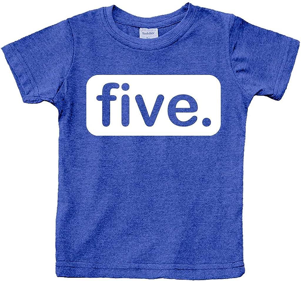 Unordinary Toddler 5th Birthday Shirt boy 5 Year Old boy Birthday boy Shirt 5 Five Fifth Shirts Gifts