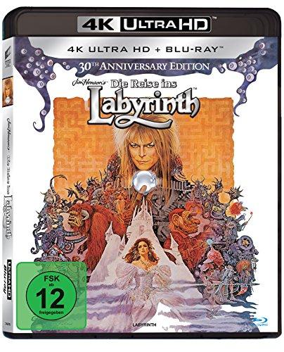 Die Reise ins Labyrinth - 30th Anniversary Edition (4K Ultra HD) (+ Blu-ray 2D)