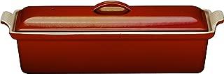 Le Creuset Enameled Cast-Iron 2 Quart Pate Terrine, Cerise