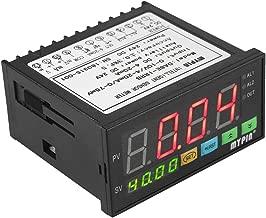 KKmoon Multi-funcional DC 24V Digital Display Display Sensor con 2 rel? de alarma de salida y 0~10V / 4~20mA / 0~75mV de entrada