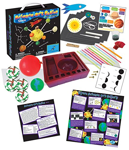 Image of the The Young Scientists Club Science Art Fusion Space Kit