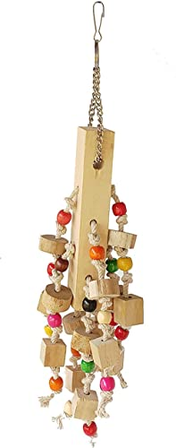 KSK Natural Hanging Wooden chew Toys (Medium)