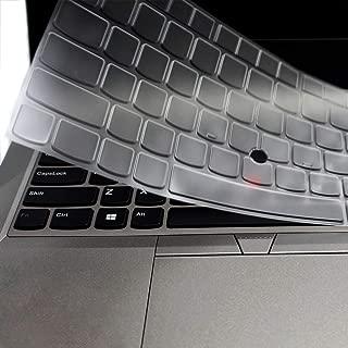 Clear Keyboard Cover Skin Protector for 14 inch Lenovo Thinkpad X1 Carbon 2017/2018, ThinkPad X1 Yoga 2rd/3rd Gen 2017/2018, ThinkPad A475 L460 L470 T460 T460p T460s T470 T470p T470s T480 T480S Laptop