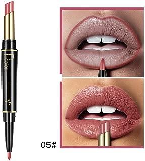 Lip Liner, Double-end Lasting Lipliner Unique Velvet Matte Waterproof Lipstick 16 Color (5/E)