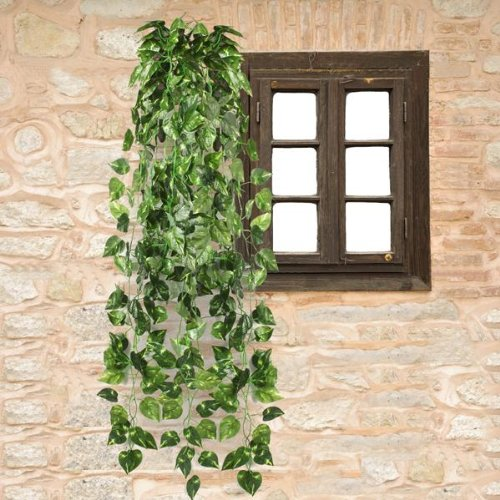Easy Provider® 3 pieces PIANTA EDERA CADENTE ARTIFICIALE X CASA MATRIMONIO CM 90