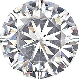 Round Moissanite by Charles and Colvard Loose Stone, Very Good Cut