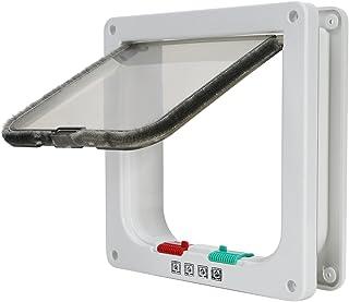 TKOOFN® 4-Modo Puerta Magnética Bloqueable de Aleta para
