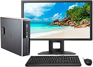 "HP Elite 8300 - Ordenador de sobremesa Completo + TFT 22"" (Intel Core I5-3470, 8GB RAM,Disco HDD 500GB, WiFi, Windows 10 Profesional 64 bits) (Reacondicionado)"