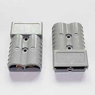X-Haibei Battery Quick Connector Kit 175a Plug Connect Disconnect Winch Trailer 1awg (Gray)