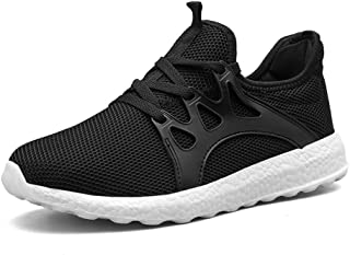 Men's Sneakers Gym Tennis Running Shoes Ultra Lightweight Casual Breathable Mesh Walking Athletic Sports Shoes Slip On US7-11