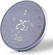 Termostato Digital Wifi para Calefacción de la Caldera de Gas/Agua Funciona-Termostato Inteligente Programable Compatible ...